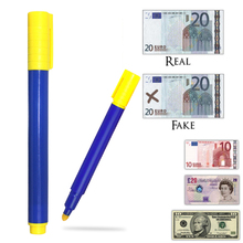 1pcs/3pcs/5pcs Useful Banknotes Detector Counterfeit Fake Forged Money Bank Note Checker Detector Tester Marker Pens