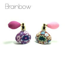 Brainbow 15ml Balloon Perfume Bottles Empty Refillable Bottle Atomizer Spray Polymer Clay Spray Scent Pump Case Travel Portable(China)