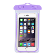 Universal Swim photography Waterproof Bag Travel Underwater cover case for 5.5 inch Cell Phone For iphone 6S 6splus Dropshipping(China)