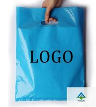 200PCS W20*H30cm(7.8' *11.8' )  printed logo pouch plastic gift bags A4/custom  shopping smiley bag designs/hair tote  bag brand