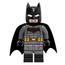 50pcs super heroes marvel dc comics model Justice League Unlimited Batman building blocks bricks friends hobby toys for boys(China)