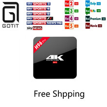Super Italy IPTV VOD H96 PRO S912 Android 6.0 TV box 2G 16G French Africa Sky Italy UK DE Arabic IPTV Smart tv Box XXX Adult TV