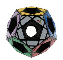 Brand new high quality MF8 Hollow Megaminx Magic Cube 90mm Black Puzzle Cube Educational Toys Children Gift Toy(China)