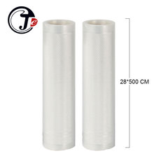 2 Rolls/lot 28*500CM Best Vacuum Sealer Bags for Food 28x500CM Vacuum Packing Machine Packing Bags Food Container Bag Sous Vide(China)