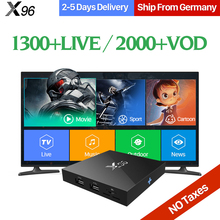 Buy Arabic IPTV Box X96 TV Box Smart Android 6.0 2GB 16GB S905X 1 Year QHDTV Code IPTV Subscription Swedish French Channels IPTV Box for $84.39 in AliExpress store