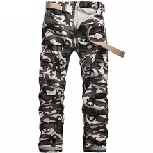 New 2017 Camouflage Pants Fashion XXL Tactical Military Clothing Paintball Army Cargo Combat Trousers Multicam Militar W28-40