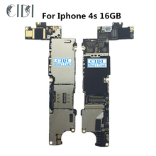 CIDI Tested Unlocked Motherboard Mainboard With Full Chips Logic Board For iphone 4S 16GB Phone