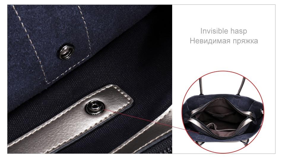 LY.SHARK female bag ladies genuine leather women bag shoulder messenger bag women handbag big famous brand designer fashion tote 6