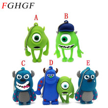 FGHGF full capacity E-DREAM cheap Cartoon Monsters University model 8GB USB Flash Drive  Pendrive 32gb Personality Gift