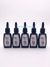 5 Bottles Of Black Tattoo Ink 1/2 OZ/Bottle Free Shipping /Pigment Outlining Ink