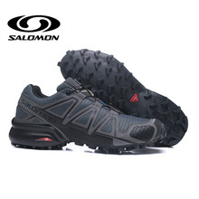 Salomon Speed Cross 4 CS Cross-Country zapatos al aire libre hombres deporte Zapatillas Hombre Jogging SPEEDCROSS 4 zapatos de esgrima EUR 40-46(China)