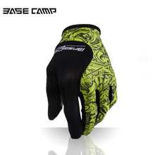 Basecamp Full Finger Cycling Gloves Mens Women's sport gloves breathable Bike Gloves(China)