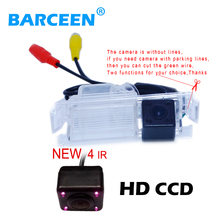 100% Waterproof HD CCD car rear view camera rearview backup auto parking camera for Kia K2 Rio Hatchback/For Kia Ceed 2013(China)