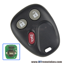 Remote Car Key Fob forGM Hummer H2 Chevrolet Avalanche Cadillac Escalade 3 Button 315mhz LHJ011 2003 2004 2005 2006 remtekey