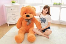 120cm large teddy bear giant bear stuffed toy doll lift size teddy bear plush toy valentine day toy for girlfriend(China)