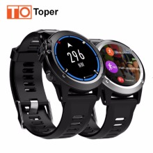 Toper H1 GPS Wifi 3G Camera Smart Watch Android OS MTK6572 IP68 Waterproof 400*400 Heart Rate Monitor 4GB/512MB for Android IOS