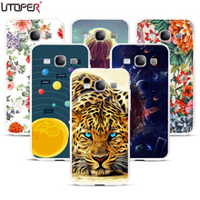 Coque For Samsung Galaxy S3 Case i9300 Tiger DIY Pattern Silicone Cover For Samsung S3 Case Neo i9301 Duos i9300i Soft Plastic