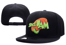 2017 New Release 1996 US Anime Movie Space Jam Snapback Caps Baseball Hat Flat Edge Adjustable Hip Hop Caps For Women and Men
