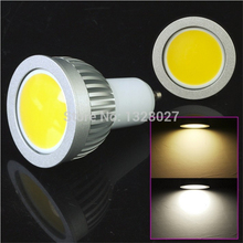 5PCS 5w High power led Spotlight COB GU10 MR16 E27 dimmable Spotlight warm/cool white replace the Halogen lamp