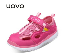 UOVO 2017 New Arrival Boys Sandals Children Sandals Closed Toe Sandals for Little and Big Sport Kids Summe Shoes Eur Size 28-37