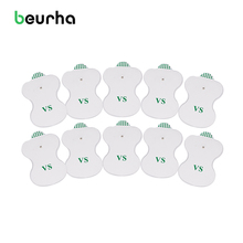 20PCS White Electrode Pads For Electric Tens Acupuncture Digital Therapy Machine for Slimming Electric Body Massager Frequency(China)