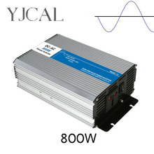 Pure Sine Wave Inverter 800W Watt DC 12V To AC 220V Home Power Converter Frequency USB Converter Electric Power Supply(China)