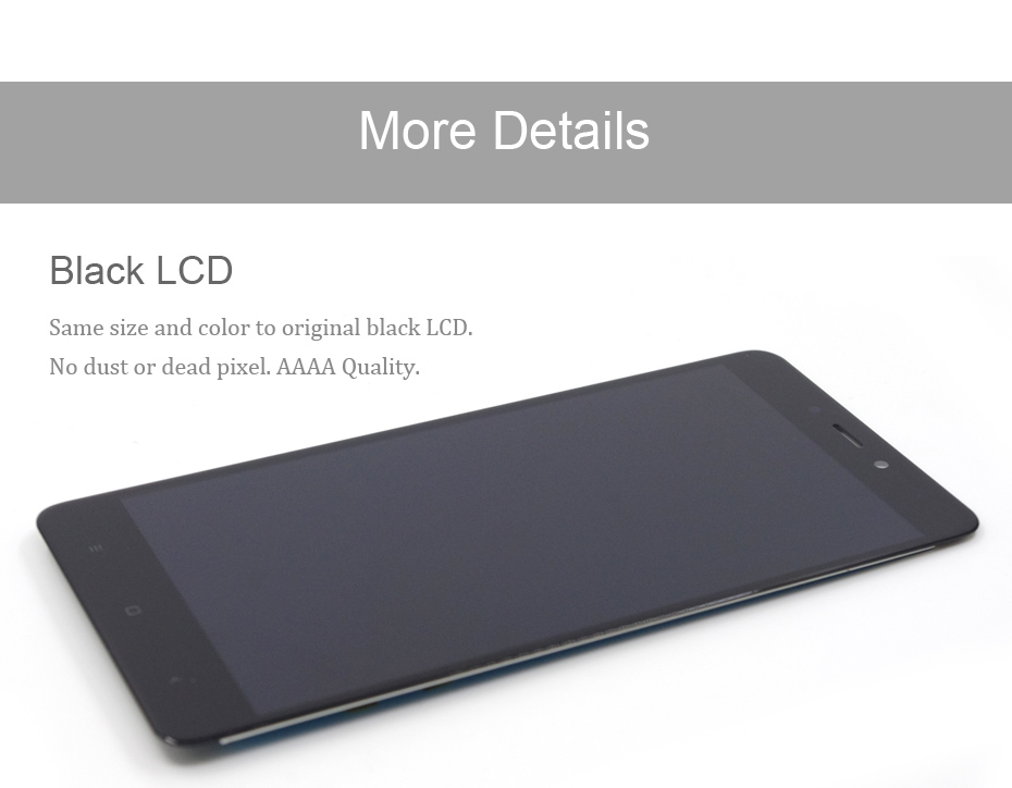 HORUG 100% AAAA Original LCD For Xiaomi Redmi Note 4 Screen LCD Helio Version Replacement Display Redmi Note 4 Touch Screen LCDS (11)