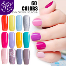 Sexy Mix 9ML Soak off UV Gel Builder Gel Use with Base and Top Coat UV Led Gel Semi Permanent Gel Long Lasting Clear Acrylic Gel