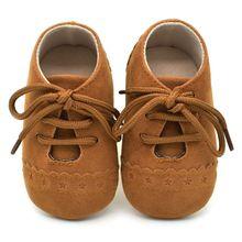 Suaves Zapatos De Cuero Del Bebé Mariquita 4-5 años 0nCKUy
