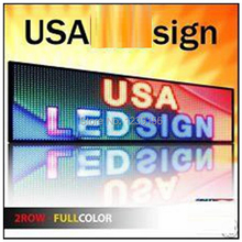 Leeman led programmable scrolling message board/led moving message scrolling billboard sign, indoor/outdoor led display screen