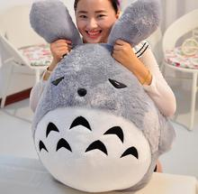 110cm Big Japan Anime Soft Plush Totoro Toy 43'' Giant Stuffed Anime Totoro Doll Kids Pillow Baby