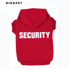 Cat Fleece Sweatshirt Dog Hoodies Design Security for Autumn/Winter 7 Sizes 4 colors(China)