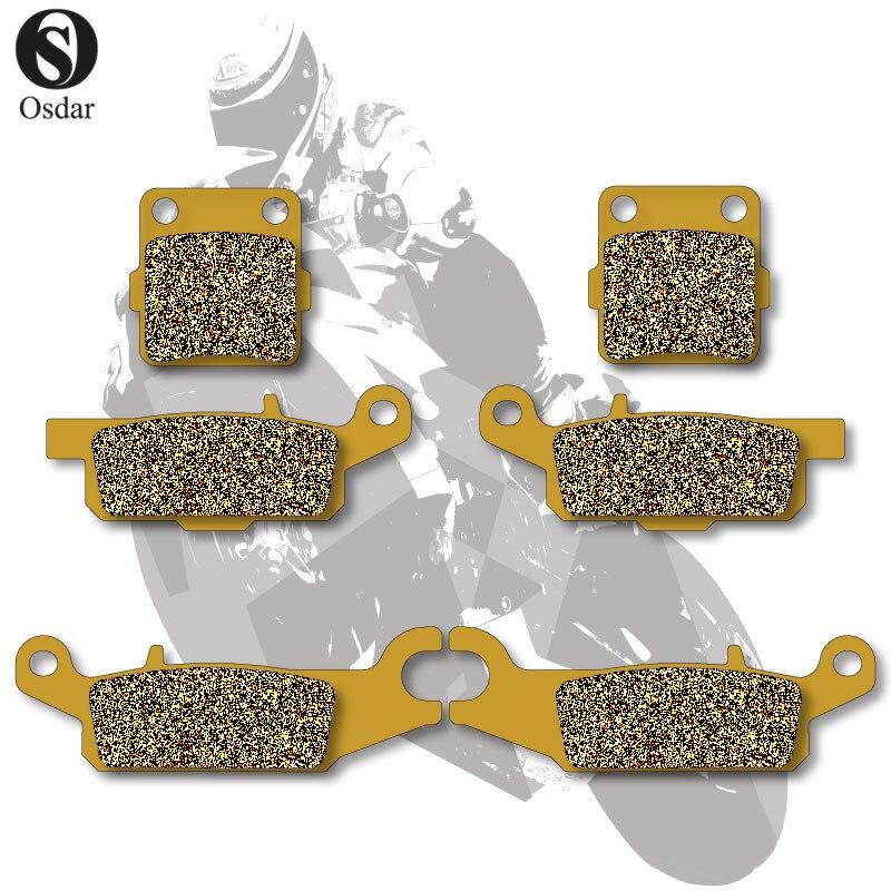Motorcycle Brake Pads Front+Rear For YAMAHA ATV RAPTOR 250 R / YFM 250 R 2008-2012<br>