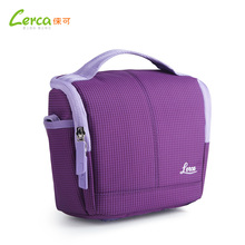 New Arrival Micro Single Girls Camera Bag Mini Travel Nylon Soft Camera Bag For Samsung Sony Canon Pink/Blue/Green/Yellow/Purple