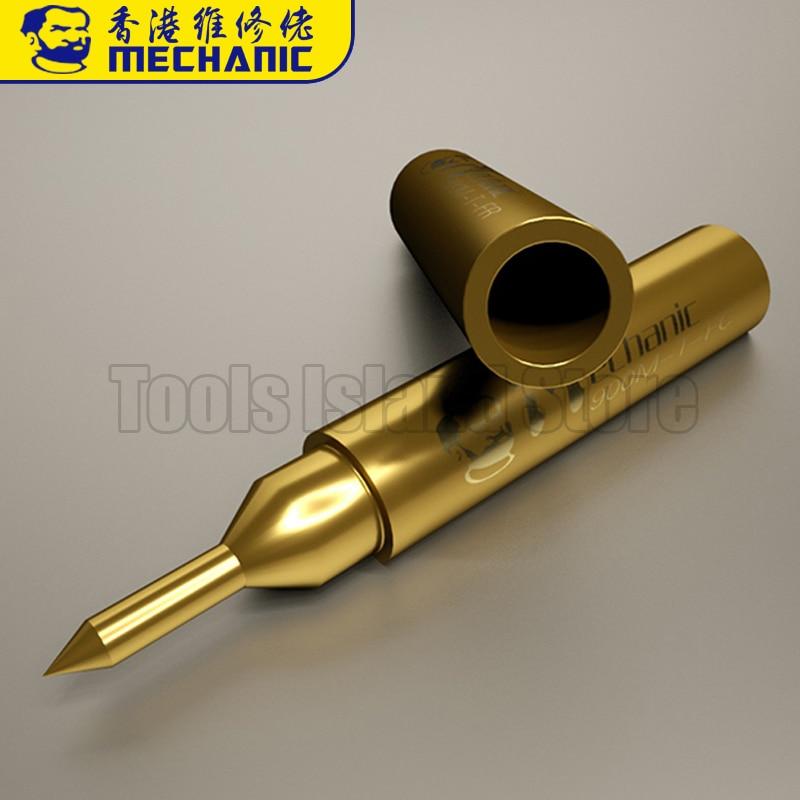 3pcs 4mm Soldering Solder Leader Solder Iron Tips for Hak ko 900M-T-I Curved tip