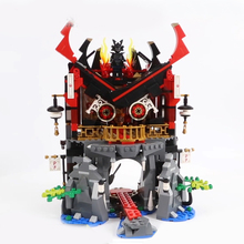 Model Building Block 10806 809pcs compatible Lego Ninjago Series Temple Resurrection Brick Toys Children 70643