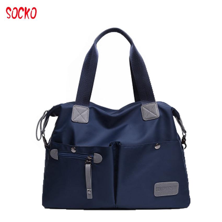 2017 New european style women  casual bag shoulder messenger Oxford bag waterproof Nylon Oxford cloth travel bag ZL43<br>