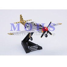 EASY MODEL 36303 1/72 Assembled Model Scale Finished Model Scale Airplane Scale WW II Aircraft Warbird P-51D MUSTANG Italy 1945(China)