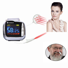 New products 2016 innovative product Low level laser wrist watch blood pressure device(China)