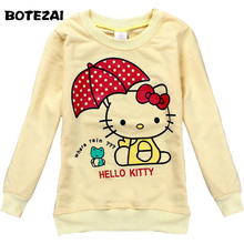 baby girls clothes 2017 girls fashion t shirts baby hello kitty girl long-sleeved t shirts children clothing casual t shirts