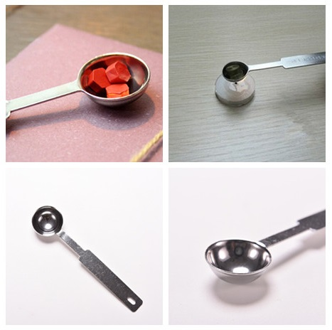 1 Pcs Stainless Steel Spoon For Wax Seal Stamping Crafts Wax Stamp Sealing Wax Spoon 2.5ML New Arrival