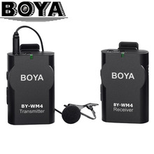 BOYA Universal Lavalier Wireless Microphone Mic for IOS Smartphone Tablet DSLR Camera Camcorder Audio Recorder PC Audio/Video