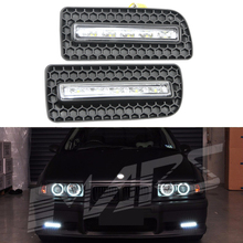 New 2x 5W 10W LED Car Daytime Running Light DRL Daylight Lamp with Signal lights for BMW M3 E36 led flexible drl light