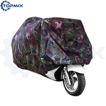 L XL XXL XXXL Universal Camo Motorcycle Motorbike Cover Camouflage Waterproof Dustproof UV resistant Cover for Motor(China)