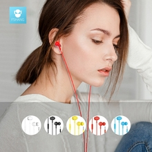 FSHANG A6 In Ear Earphone 3.5MM With Mic Capsule High Fidelity Cheapest Stereo Earphones Patent Designed for Xiaomi Ear Phone