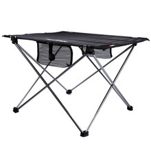 Outdoor Adjustable Folding Table Portable Picnic Camping Fishing Hiking Garden Trip Utility Chairs Picnic Table Desk with Bag