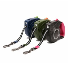 Pet Puppy Dog Cat LED Automatic Retractable Puppy Traction Extending Rope Walking Lead Leash LKT88(China)