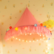 Half Circus Canopy Hanging Toy Tent For Children Play Game Tents Kids Child bed Mantle indoor play house baby Tent toy