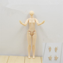 middie blyth body azone 1/12 joint doll 14cm suitable middle blythe doll 20 joints(China)
