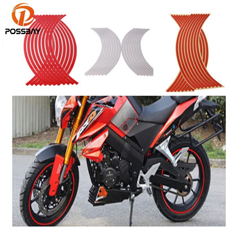 18 /& 21 INCH DIRT BIKE RIM PROTECTORS WHEEL DECALS TAPE GRAPHICS MOTORCYCLE